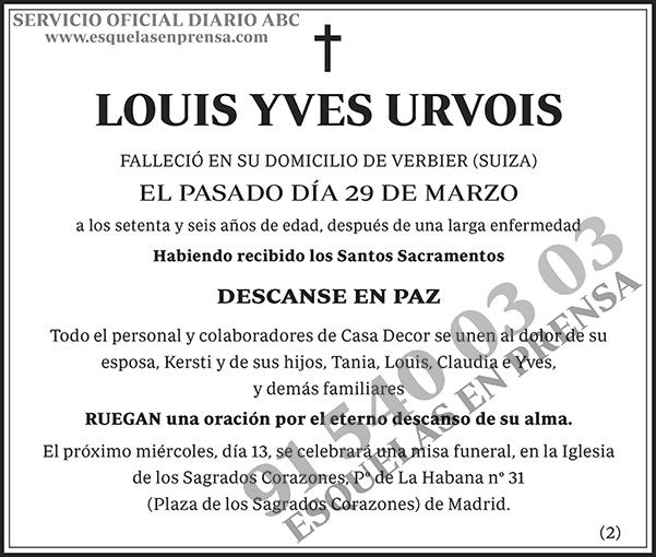 Louis Yves Urvois
